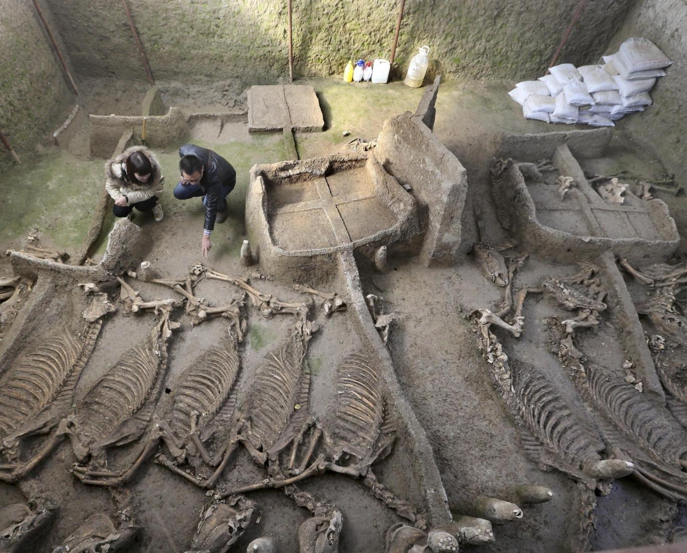 2500 Jaar Oude Chinese Graftombe Gevonden Geheime