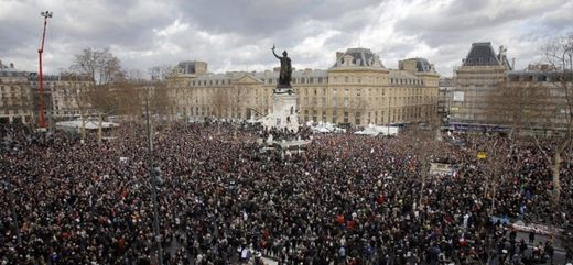 Charlie Hebdo march in Paris