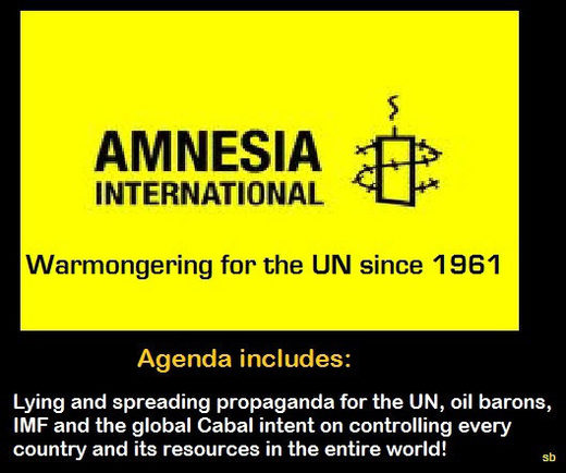Amnesia/Amnesty warmongering International