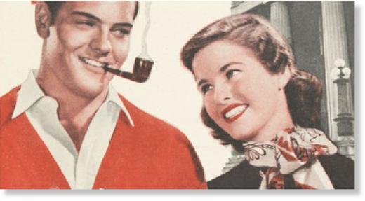 Smoking advert