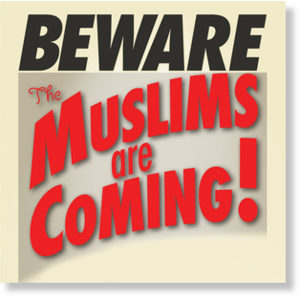 Muslims are coming