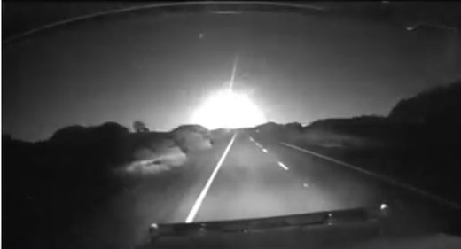 South Australia meteor fireball