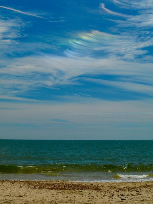 Circumhorizontal arc over Bournemouth