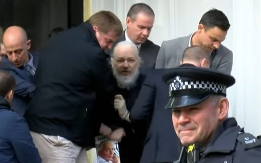 Arrestatie Julian Assange