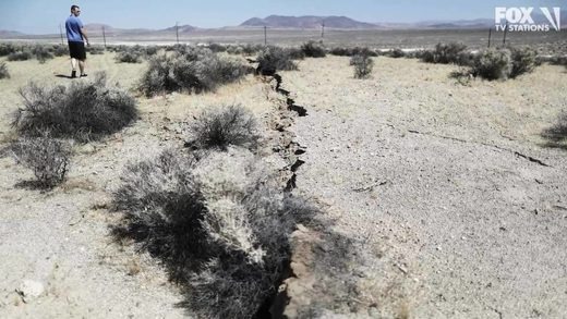 ridgecrest earthquake aardbeving