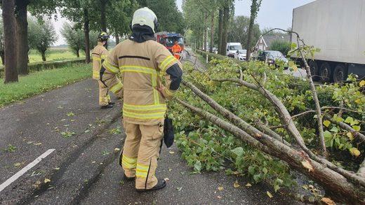 Windhoos en zware hagelbuien in provincie Utrecht