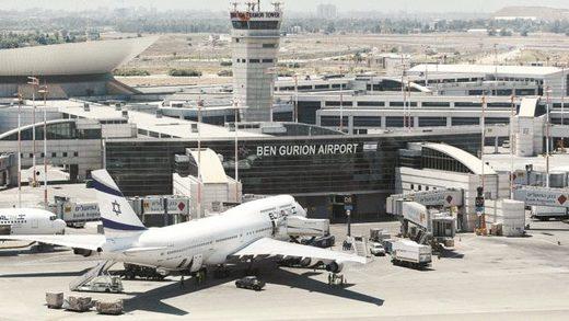 Ben Gurion vliegveld Tel Aviv
